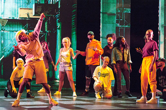 Diamond Dance The Musical - Danseurs de Hip Hop